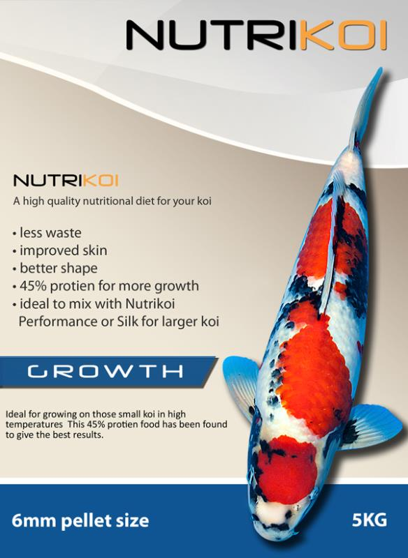 NutriKoiGrowth 6mm 5kg