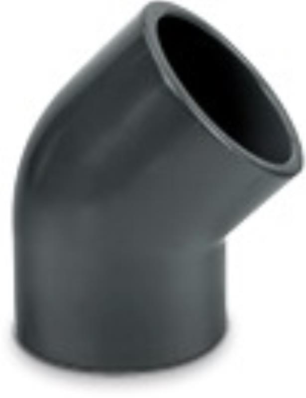3 Inch 45 Bend pressure pipe (grey)