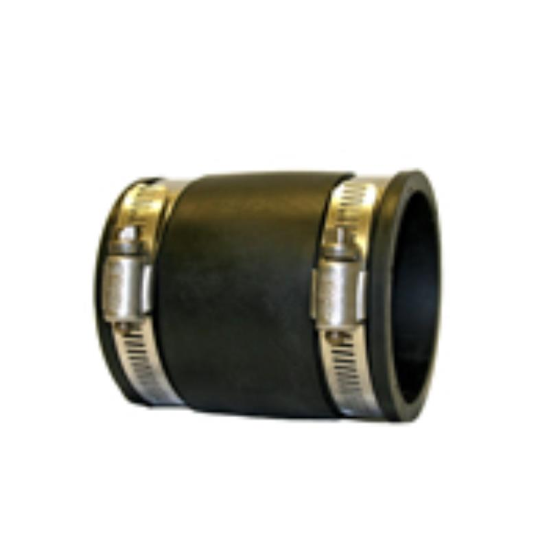 1 Inch Straight Connector-Boot (EA)