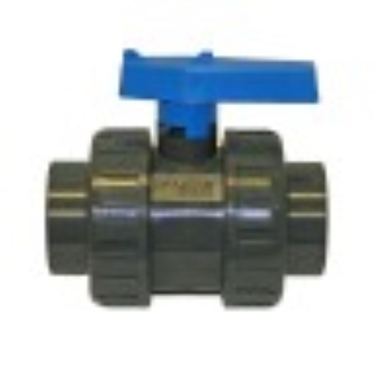 2 Inch Ball Valve Blue/orange Handle